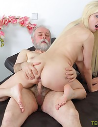 Blondie follows her old teacher