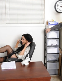 Audrey Bitoni and Johnny Castle in Naughty Office - Naughty America