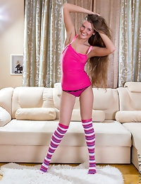 Nubiles.net - featuring Nubiles Sabrina Bronstein in long-socks