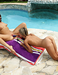 QUICK DIP with Gina Gerson, Tina Hot - ALS Scan