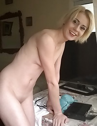 Skinny horny girlfriend wants to play doctor as she strips naked for her boyfriends camera