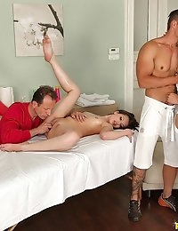 Euro Sex Parties Presents Aurelly Rebel in Amazing Massage! - Movies And Pictures  photo #6