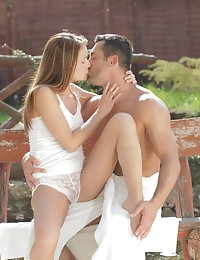 Nubile Films - videos featuring Sophie Lynx in Take It Outside photo #1