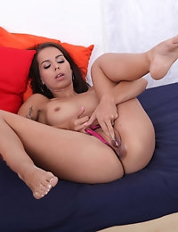 Ferrera pumps her pussy photo #6