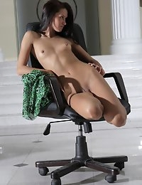 Fedorov-hd-Maria-chair-fabulous-hot-girl-long-dark-hair-russian-girl  photo #12