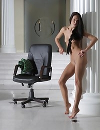 Fedorov-hd-Maria-chair-fabulous-hot-girl-long-dark-hair-russian-girl  photo #5