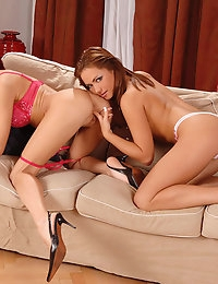 Kristine & Lola : | LESBIAN | ass to mouth | ass gape | 69 | bedroom | brunette | dildo glass | anal sex | eyes blue | eyes green | fingering | pussy to mouth | trimmed | babe | tattoo | : Free picture gallery : 1By-Day - 2 exclusive picture and video photo #4