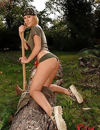 Zuzana Z. : | BABES | Outdoors | Blonde | Medium | Shaved | Other toys | : Free picture gallery : 1By-Day - 2 exclusive picture and video sets each day, the most beautiful girls of eastern europe shooted by Denys Defrancesco, only exclusive pictures, down photo #6