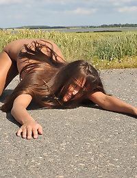 Eroberlin Anastasia Petrova outdoor nudity dance photo #12