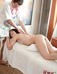 Teen Massages With Her Mouth photo #6