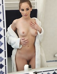 MikesApartment  - Tina Blade Shower love European petite babe juicy ass goes Euro Amatuer photo #1
